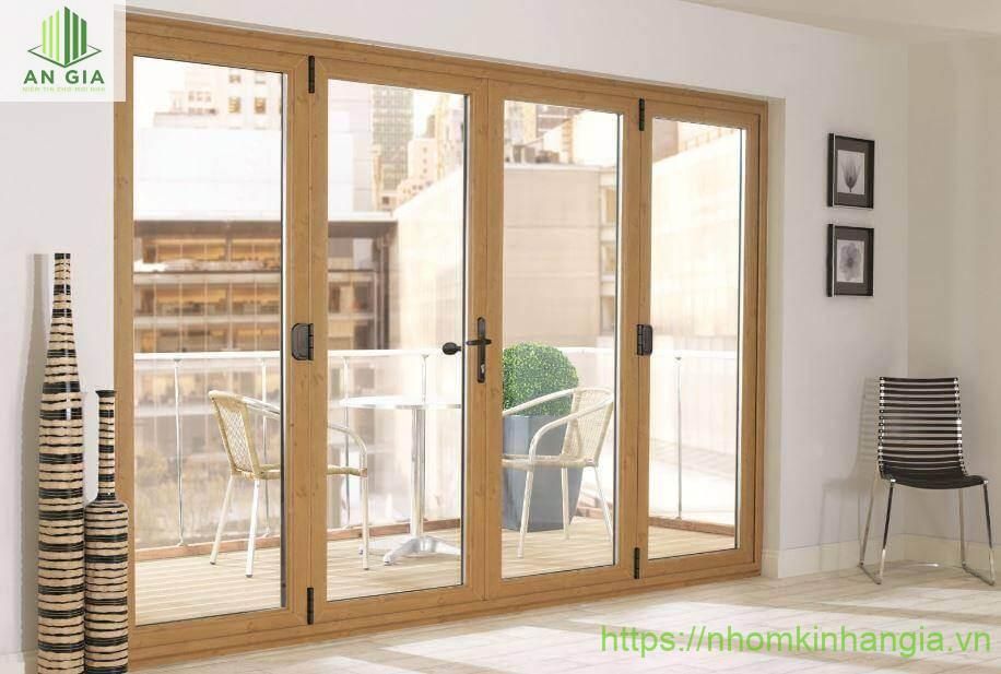 Giới thiệu cửa kính thủy lực khung gỗ