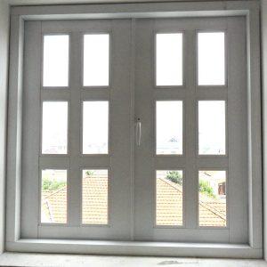Mẫu cửa nhôm kính 1 cánh hệ 700