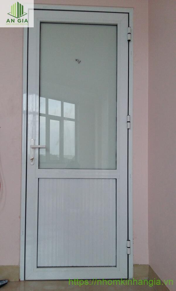 Cửa nhôm kính nhà vệ sinh hệ 1000