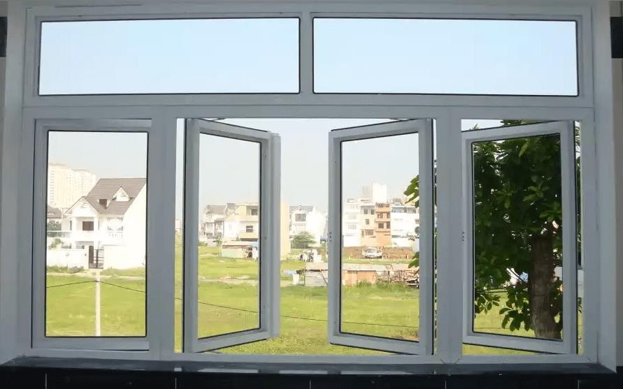 Cửa sổ nhôm kính 4 cánh