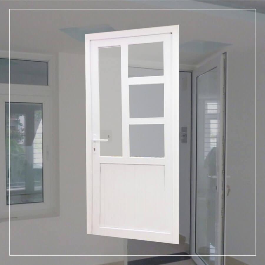 GIá của cửa phòng ngủ vách nhôm
