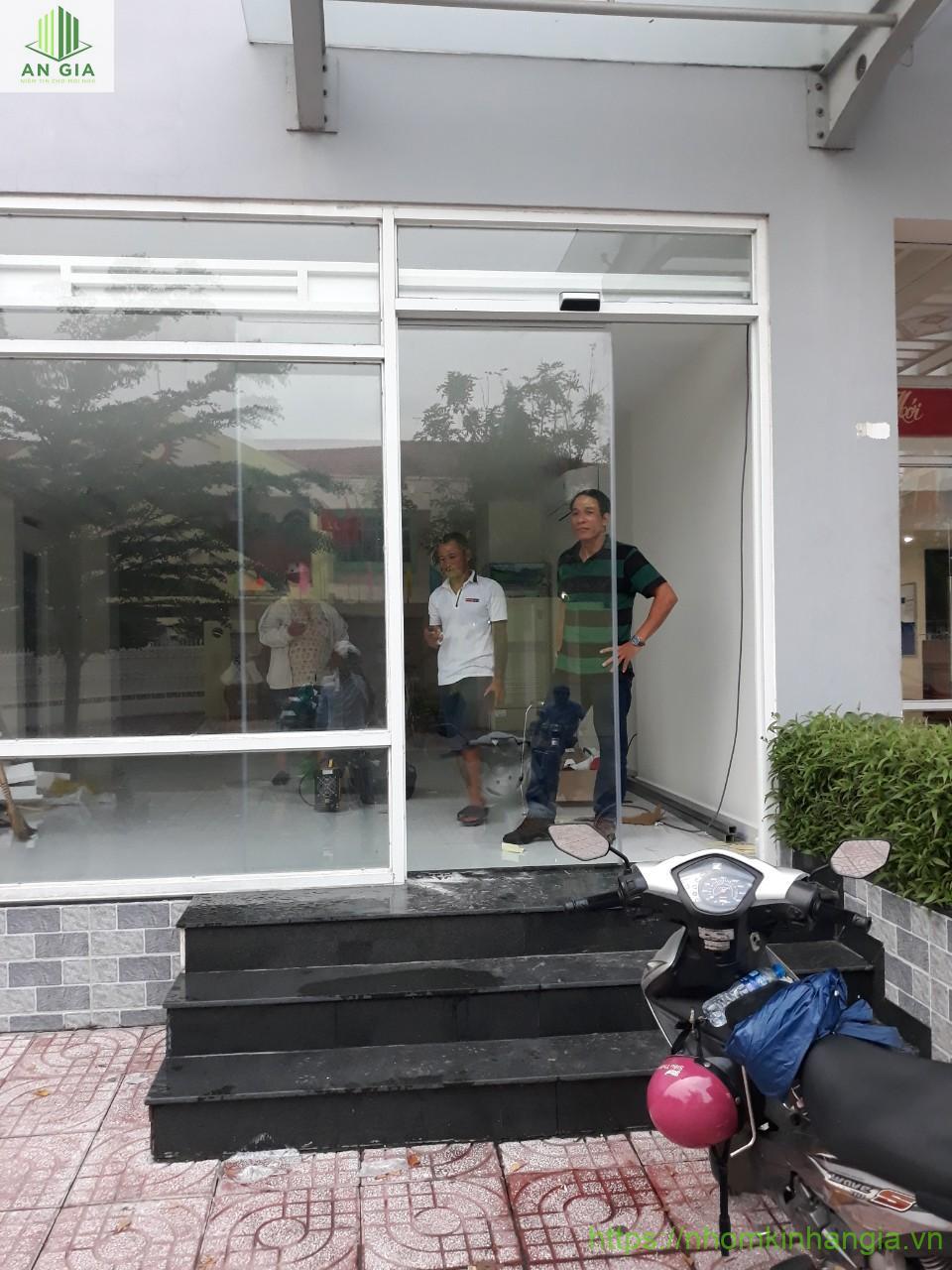 Công trình cửa tự động Tạ Quang Bửu quận 8, Tp Hồ Chí Minh