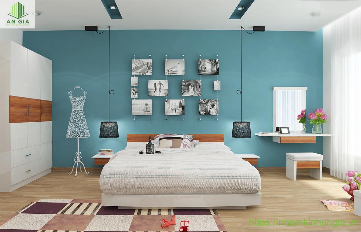 vị trí để gương trong phòng ngủ